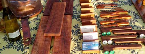 Calisto Palos: All Maui Koa Wood Items